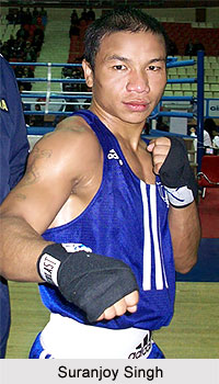 Suranjoy Singh, Indian Boxer