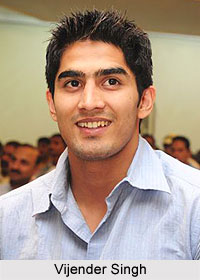 Vijender Singh, Indian Boxer