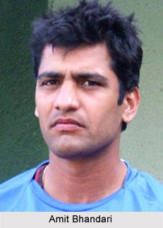Amit Bhandari, Delhi Cricket Player