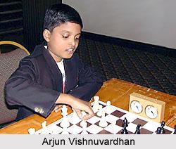 Arjun Vishnuvardhan, Indian Chess Players