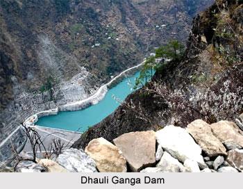 Dhauli Ganga Dam, Uttarkhand