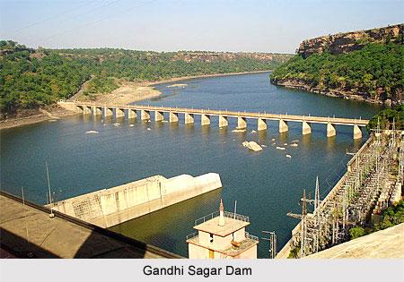 Gandhi Sagar Dam, Madhya Pradesh