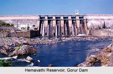 Hemavathi Reservoir, Gorur Dam, Karnataka