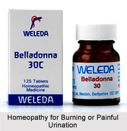 Homeopathy for Burning or Painful Urination