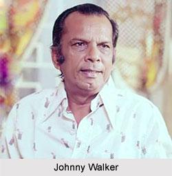 Johnny Walker, Indian Comedian