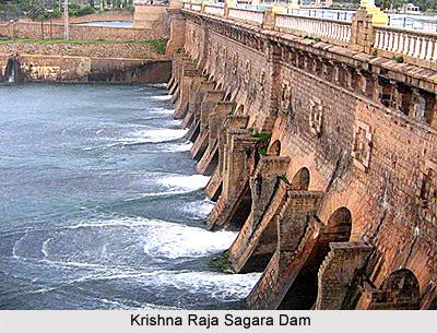 Krishna Raja Sagara Dam Karnataka