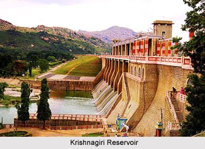 Krishnagiri Reservoir, Tamil Nadu