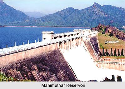 Manimuthar Reservoir, Tamil Nadu