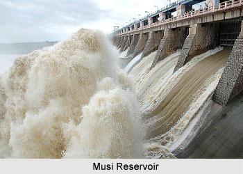 Musi Reservoir, Andhra Pradesh