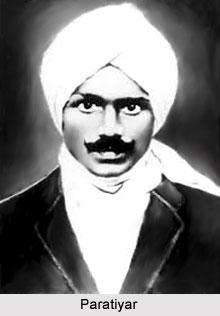 Paratiyar, Tamil Poet