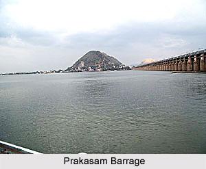 Prakasam Barrage, Andhra Pradesh