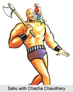 Sabu, Characters in Indian Comics Series