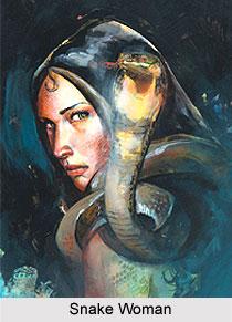 Snake Woman, Indian Comics Series