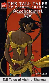 Tall Tales of Vishnu Sharma Panchatantra, Indian Comics Series