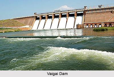 Vaigai Dam, Tamil Nadu