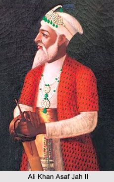 Ali Khan Asaf Jah II, Nizam of Hyderabad