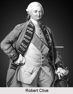 Robert Clive - Anglo-French Conflict, British India