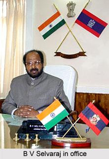 B V Selvaraj, Former Governor of Lakshadweep in Office