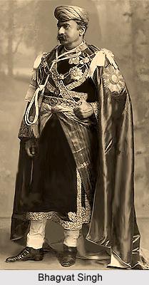 Bhagvat Singh, Maharaja of Gondal