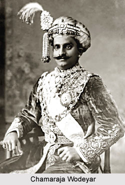 Chamaraja Wodeyar, Maharaja of Mysore