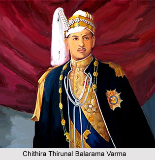 Chithira Thirunal Balarama Varma, Maharaja of Travancore