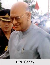 D.N. Sahay, Governor of Tripura