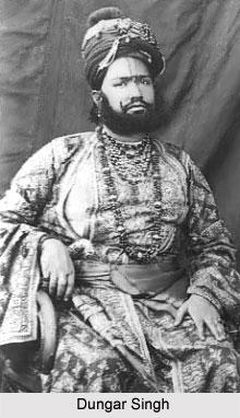 Dungar Singh, Maharaja of Bikaner