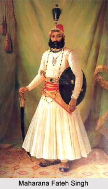 Fateh Singh, Maharana of Mewar