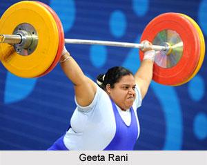 Geeta Rani, Indian Weightlifter