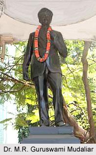 Guruswami Mudaliar, Physician of  Madras