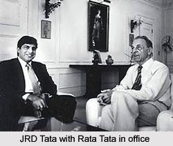 J.R.D Tata, Indian Businessman
