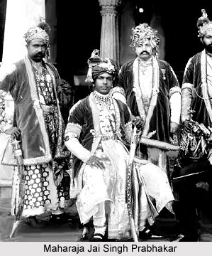 Jai Singh Prabhakar, Maharaja of Alwar