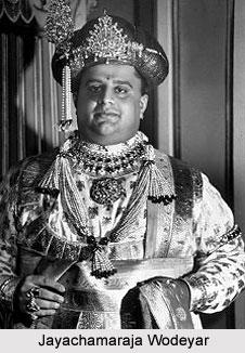 Jayachamaraja Wodeyar, Maharaja of Mysore
