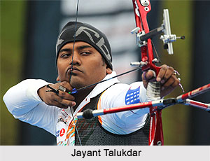 Jayant Talukdar, Indian Archer