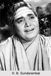 K. B. Sundarambal, Tamil Theatre Personality