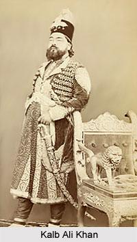 Kalb Ali Khan, Nawab of Rampur