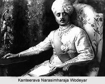 Kanteerava Narasimharaja Wodeyar, Prince of Mysore