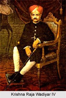 Krishna Raja Wadiyar IV, Maharaja of Mysore