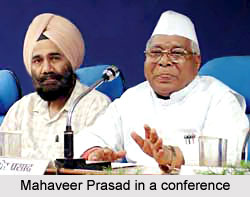Mahaveer Prasad in a Conference