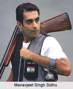 Manavjeet Singh Sidhu, Indian Shooter
