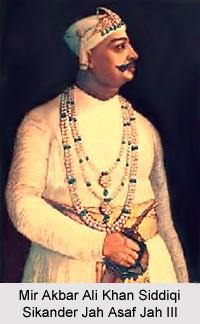 Mir Akbar Ali Khan Sikander Jah Asaf Jah III, Nizam of Hyderabad