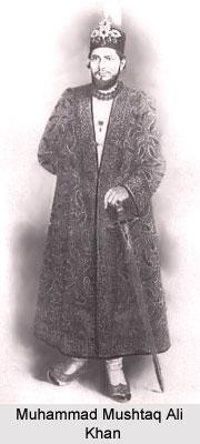 Muhammad Mushtaq Ali Khan, Nawab of Rampur