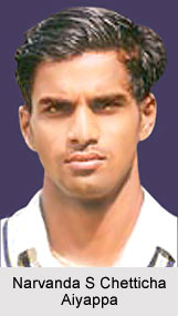 Narvanda S Chetticha Aiyappa, Karnataka Cricket Player