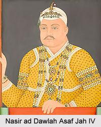 Nasir ad Dawlah Asaf Jah IV, Nizam of Hyderabad