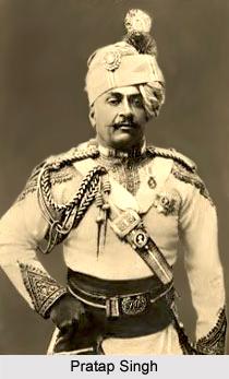 Pratap Singh, Maharaja of Idar