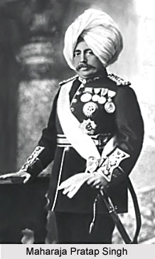 Pratap Singh, Maharaja of Jammu and Kashmir