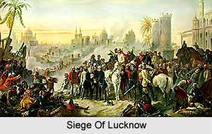Preparations For Siege Of Lucknow, Indian Sepoy Mutiny