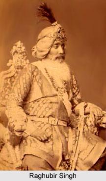 Raghubir Singh, Maharaja of Jind