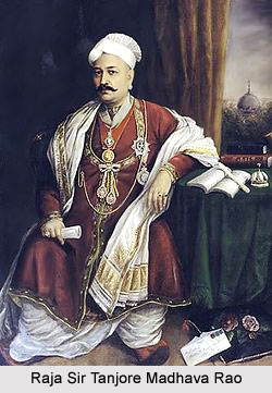 Raja Sir Tanjore Madhava Rao, Diwan of Travancore