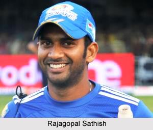 Rajagopal Sathish, Tamil Nadu Cricket Player